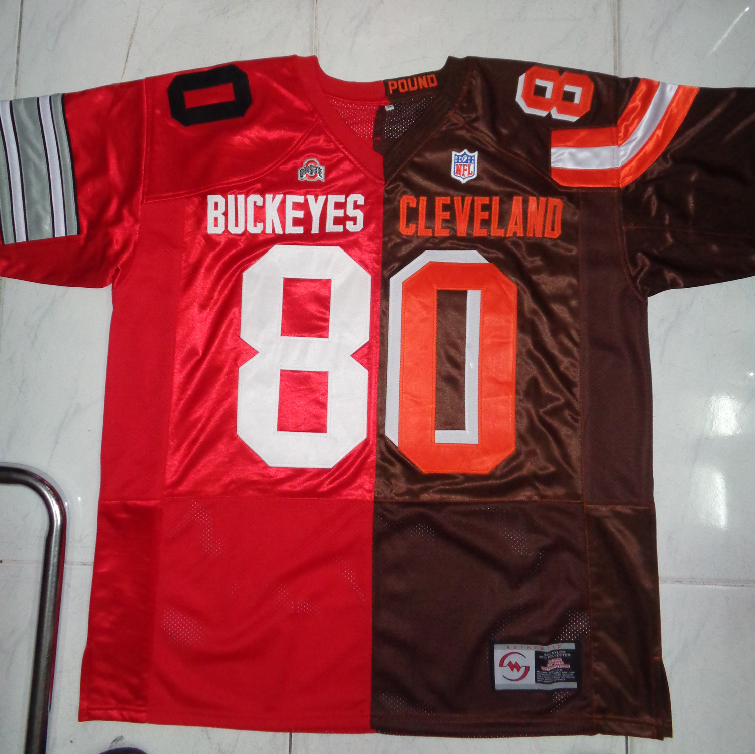 6434e22d2fb Split Football Jerseys Choice Team Name Number Size Style - My Size ...