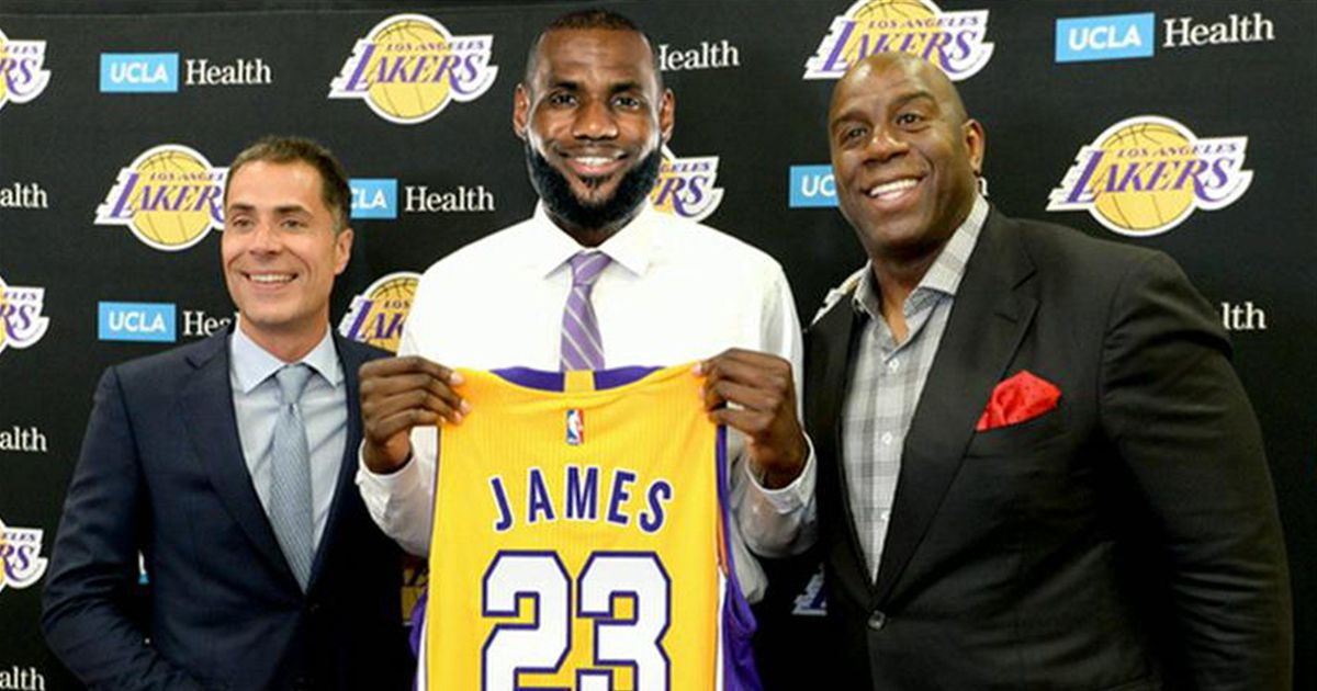 mysizejersey.com Lakers Taking New Approach LeBron James Lakers Jersey