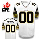 CFL Custom Hamilton Tiger-Cats Premier TC White Football Jersey