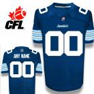 CFL Custom Toronto Argonauts Premier TC Blue Football Jersey