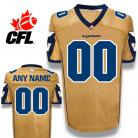 CFL Winnipeg Blue Bombers Premier TC Gold Football Jersey