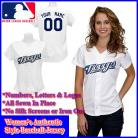 Toronto Blue Jays Authentic Personalized Women's White Jersey