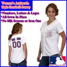 Detroit Tigers Women's Personalized Fashion Pink Jersey