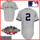 New York Yankees Authentic Derek Jeter 2011 All-Star Game Jersey