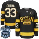 Boston Bruins 2016 Winter Classic Mens Black Jersey  33 Zdeno Chara