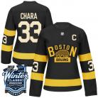 Boston Bruins 2016 Winter Classic Ladies Black Jersey  Custom or Blank