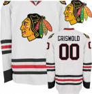 Christmas Vacation Movie Clark Griswold 00 White Hockey Jersey Close Out