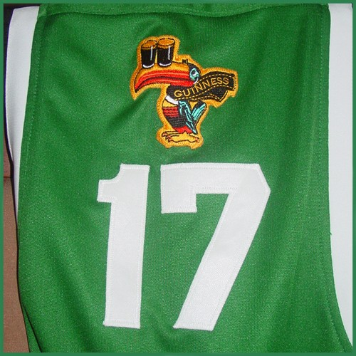 Guinness Beer Authentic St. Patrick s Day Ice Hockey Jersey - Custom ... 27a80f4a789