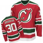 New Jersey Devils Authentic Style Red Game Jersey #30 Martin Brodeur