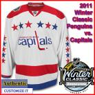 Washington Capitals 2011 Winter Classic Custom or Blank Authentic Jersey