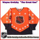 Wayne Gretzky 1982 NHL Authentic Style All Star Game Jersey