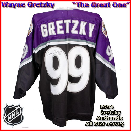 Wayne Gretzky 1994 NHL Authentic Style All Star Game Jersey. Hover over  image to zoom. Click to enlarge Click to enlarge ... 16d224d3b85