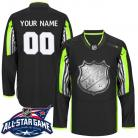Mens NHL Black 2015 All-Star Game Jersey Custom or Blank
