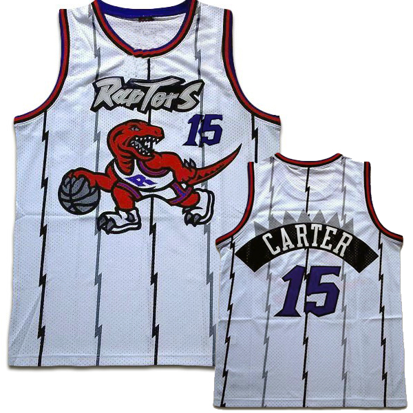Toronto Raptors Custom Authentic Style Throwback White Jersey ... a4904bf97aab