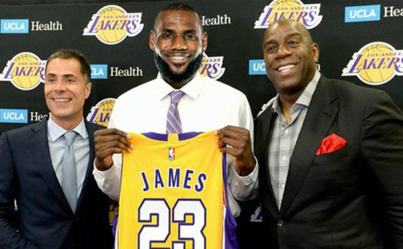Lakers Taking New Approach LeBron James Lakers Jersey