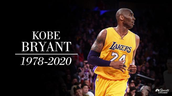 NBA superstar, future Hall of Famer, Kobe Bryant, dead