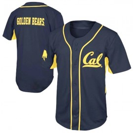 California Golden Bears Blue Type 2 NCAA College Baseball  Jersey