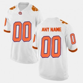 Clemson Tigers White NCAA College Football Jersey