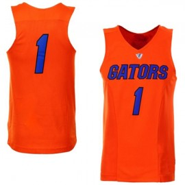 Florida Gators NCAA College Orange Basketball Jersey