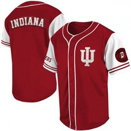 Indiana Hoosiers Red White NCAA College Baseball Jersey