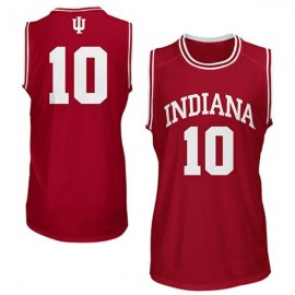 Indiana Hoosiers NCAA College Red Basketball Jersey