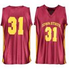 Iowa State Cyclones NCAA College Red Basketball Jersey