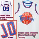 MARVIN MARTIAN 09 Space Jam Tune Squad White Movie Jersey