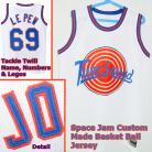 PEPE LE PEW 69 Space Jam Tune Squad White Movie Jersey