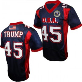 Trump 45 Custom On Field Style Football Jersey Any Size All Styles