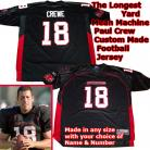 Paul Crewe Adam Sandler Longest Yard Mean Machine NFL Jersey