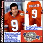 Bobby Boucher Adam Sandler The Waterboy Bourbon Bowel Football Jersey