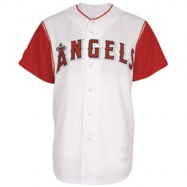 Los Angeles Angels Alt Home Jersey White Red