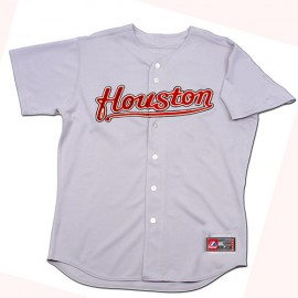 Houston Astros Classic Away Road Gray Jersey