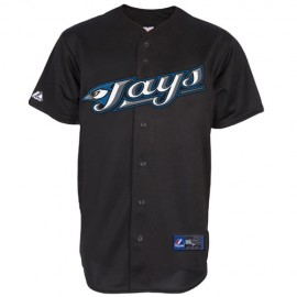 Toronto Blue Jays 1st Alternate Home Black Jersey