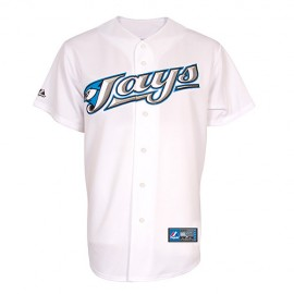 Toronto Blue Jays Authentic Style Classic Home White Jersey