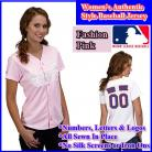 St. Louis Cardinals Women's Personalized Fashion Pink Jersey