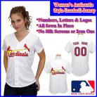 St. Louis Cardinals Authentic Personalized Women's White Jersey