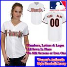 Arizona Diamondbacks Authentic Personalized Women's White Jersey