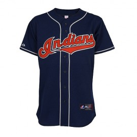Cleveland Indians Classic Alternate Away Road Blue Jersey