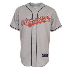 Cleveland Indians Classic Away Road Gray Jersey