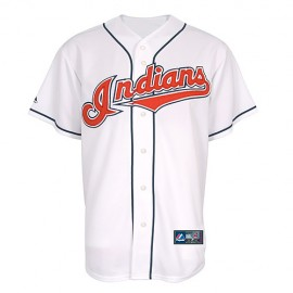 Cleveland Indians Classic Home White Jersey