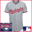 Washington Nationals Authentic Style Road Gray Jersey