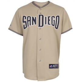 San Diego Padres Classic Away Road Beige Jersey