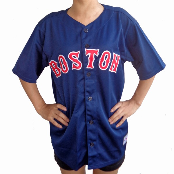 meet 09ca2 3f51c Red Sox Alternate BOSTON 617 STRONG Blue Jersey