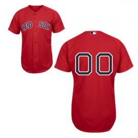 Boston Red Sox Authentic Style Personalized Alternate Home Red Jersey