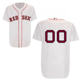 Boston Red Sox Authentic Style Personalized Home White Jersey