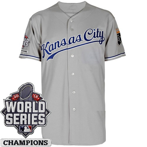 brand new 3efd4 277ff Kansas City Royals Authentic Style Personalized World Series ...