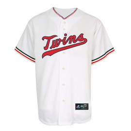 Minnesota Twins Classic Home  White Jersey