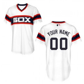 Chicago White Sox Authentic Style Personalized 2013 Alt Home White Jersey