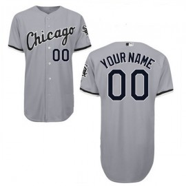 Chicago White Sox Authentic Style Personalized Road Gray Jersey